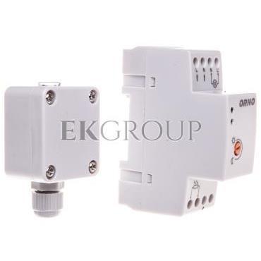 Czujnik zmierzchowy na szynę DIN z zewnętrzną sondą w puszce 3000W 2-100lx IP65/IP20 OR-CR-231-143527