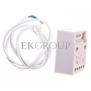Czujnik zmierzchowy z zewnętrzną sondą 2300W 2-100lx IP65/IP20 biały OR-CR-233-143531