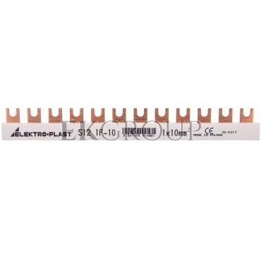 Szyna łączeniowa 1P 63A 10mm2 widełkowa 1F S12 1F-0 45.102-136513