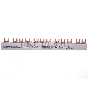 Szyna łączeniowa 3P 80A 16mm2 widełkowa (12mod.)3F S12 3F-10 45.321-136523