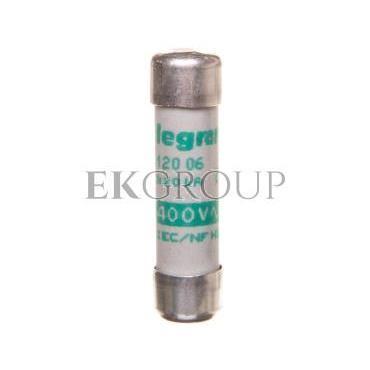Wkładka bezpiecznikowa cylindryczna 8,5x31,5mm 6A aM 500V 012006-136868