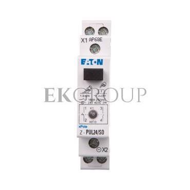 Przycisk modułowy 16A 1Z 1R z lampką sygnalizacyjną Z-PUL24/SO 276296-134515