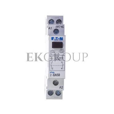 Przekaźnik impulsowy 16A 12V DC 24V AC 1Z 1R Z-S24/SO 265539-134064
