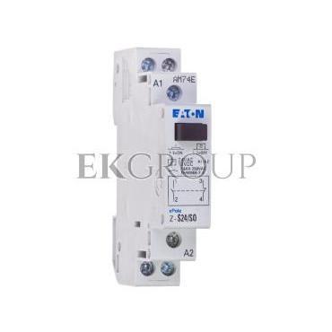 Przekaźnik impulsowy 16A 12V DC 24V AC 1Z 1R Z-S24/SO 265539-134065