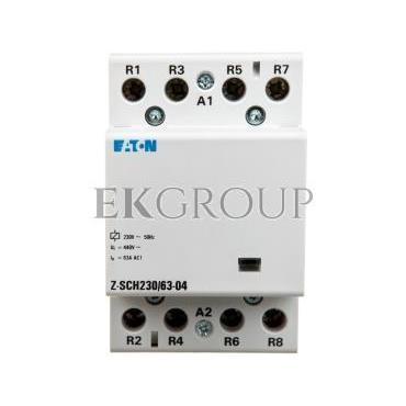 Stycznik modułowy 63A 0Z 4R 230V AC Z-SCH Z-SCH230/63-04 285735-135877