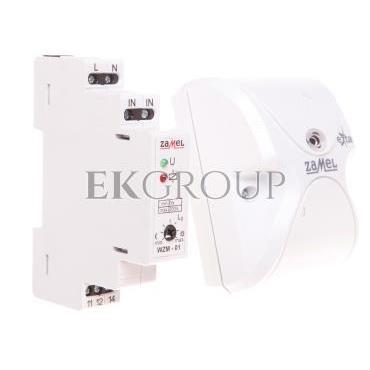 Wyłącznik zmierzchowy z sondą SOS-01 16A 230V 0-200lx AC WZM-01/SOS EXT10000143-143520
