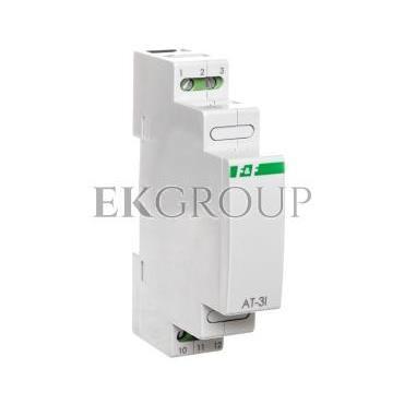 Przetwornik temperatury analogowy 4-20mA bez sondy dla PT-100 AT-3I-134552