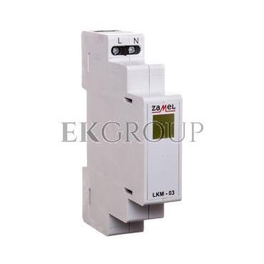 Wskaźnik zasilania 230V LED żółta LKM-03-30 EXT10000046-133552