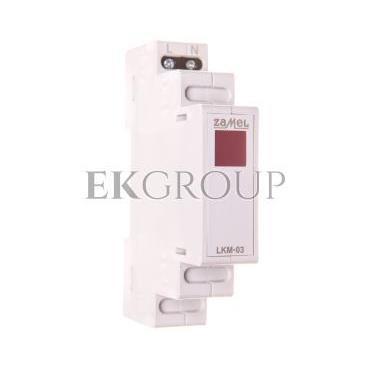 Wskaźnik zasilania 230V LED czerwona LKM-03-10 EXT10000044-133549