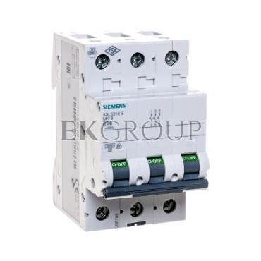 Wyłącznik nadprądowy 3P B 16A 6kA 5SL6316-6-140495