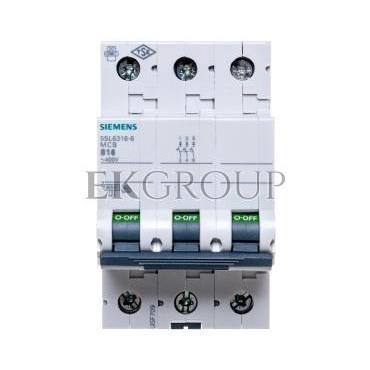 Wyłącznik nadprądowy 3P B 16A 6kA 5SL6316-6-140496