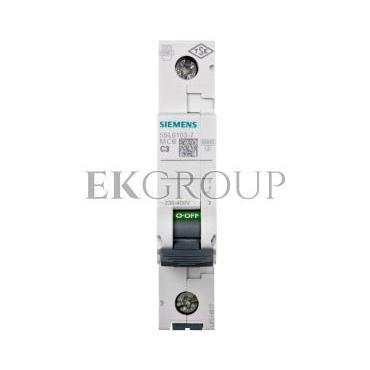 Wyłącznik nadprądowy  1P  C  3A 6kA AC 5SL6103-7-140206