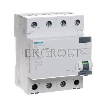 Wyłącznik różnicowoprądowy 4P 40A 0,03A typ AC 5SV4344-0KL-137911