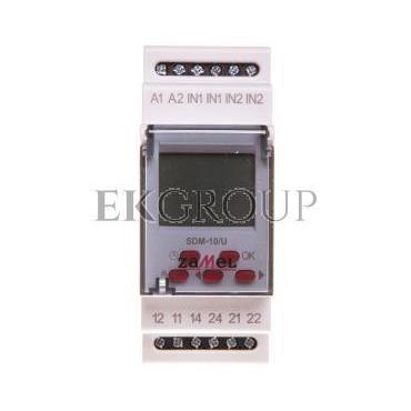 Sterownik dzwonka szkolnego 24-250V AC / 30-300V DC SDM-10/U EXT10000119-143726