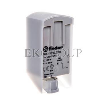 Wyłącznik zmierzchowy 1Z 12A 230V AC miniaturowy 1-80lx IP54 10.51.8.230.0000-143542