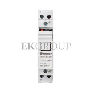 Przekaźnik impulsowy 1Z 16A 24V DC styk AgSnO2 20.21.9.024.4000-134172