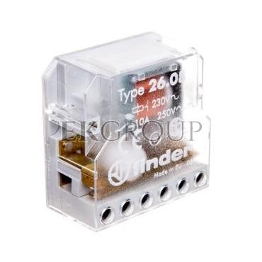 Przekaźnik impulsowy 2Z 10A 230V AC 26.08.8.230.0000-134182
