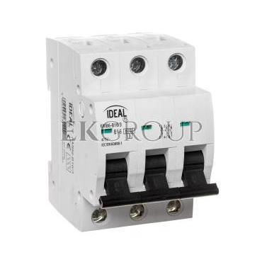Wyłącznik nadprądowy 3P B 16A 6kA AC KMB6-B16/3 23149-140770