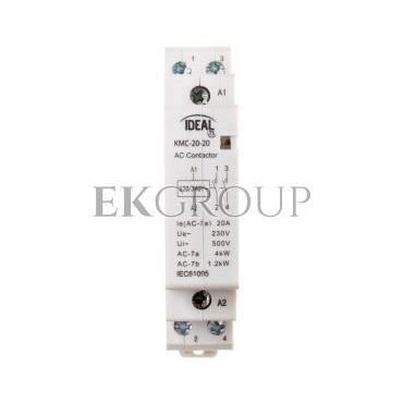 Stycznik modułowy 20A 2Z 0R 230V AC KMC-20-20 23240-136147