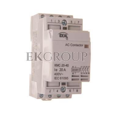 Stycznik modułowy 20A 4Z 0R 230V AC KMC-20-40 23241-136148