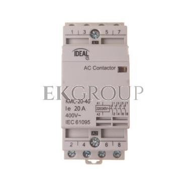 Stycznik modułowy 20A 4Z 0R 230V AC KMC-20-40 23241-136149