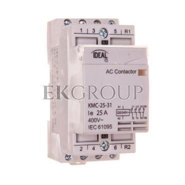 Stycznik modułowy 25A 3Z 1R 230V AC KMC-25-31 23247-136152