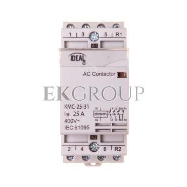 Stycznik modułowy 25A 3Z 1R 230V AC KMC-25-31 23247-136153