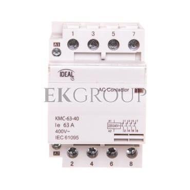 Stycznik modułowy 63A 4Z 0R 230V AC KMC-63-40 23242-136157