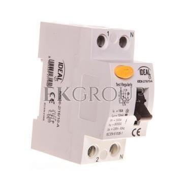 Wyłącznik różnicowoprądowy 2P 16A 0,01A typ A KRD6-2/16/10 23194-137995