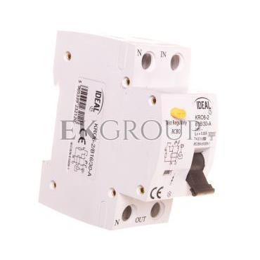Wyłącznik różnicowo-nadprądowy 2P B 16A 0,03A typ A KRO6-2/B16/30-A 23212-142698