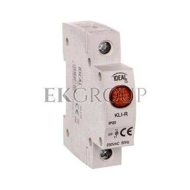 Kontrolka świetlna LED KLI-R czerwona 23320-133570
