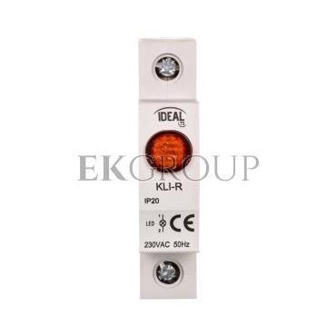 Kontrolka świetlna LED KLI-R czerwona 23320-133571
