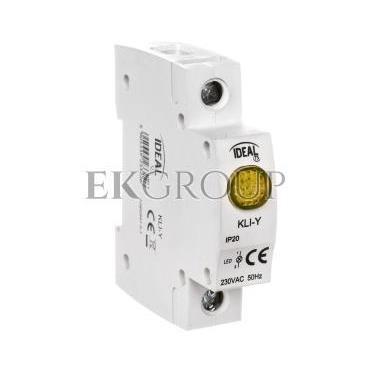 Kontrolka świetlna LED KLI-Y żółta 23322-133568