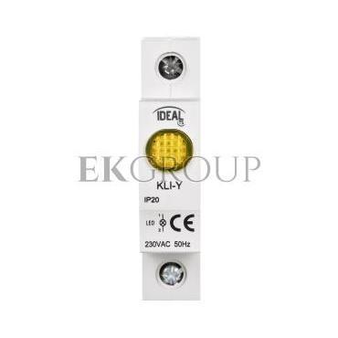 Kontrolka świetlna LED KLI-Y żółta 23322-133569