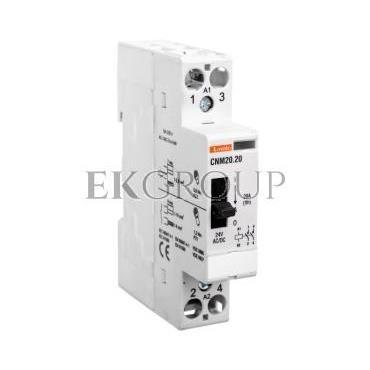 Stycznik modułowy z dźwignią 20A 2Z 0R 24V AC/DC CNM2020024-136182