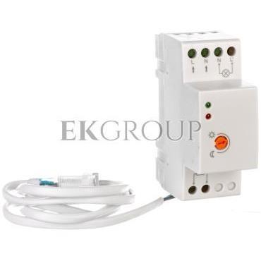 Czujnik zmierzchowy CZ-1 max. 4800W 220-240V AC 50/60Hz 20A IP65 szynowy CZ-CZ1000-00-143564