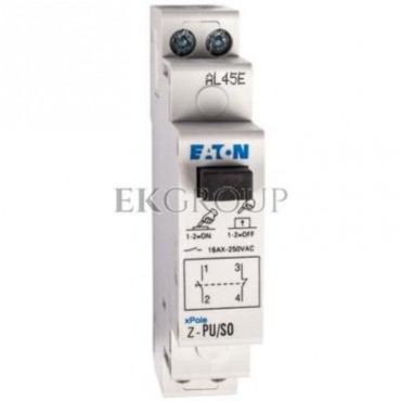 Przycisk modułowy 16A 1Z 1R Z-PU/SO 276293-134452