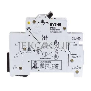 Styk pomocniczy 2P montaż boczny ZP-NHK 248437-136228