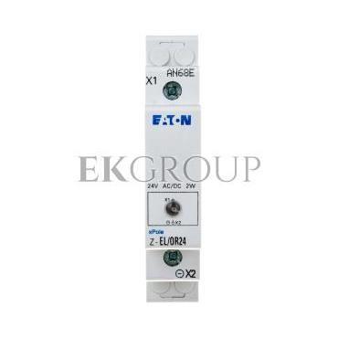 Lampka modułowa pomarańczowa 24V AC/DC Z-EL/OR24 275444-133466