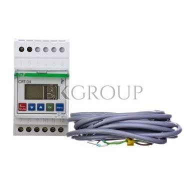Regulator temperatury z zegarem sterujacym 0-60 st.C 1P 16A cyfrowy CRT-04-134529