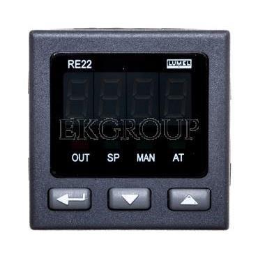 Regulator temperatury wejście uniwersalne temperaturowe wyjście przekaźnikowe zasilanie 230V AC bez atestu KJ RE22 111000-134557