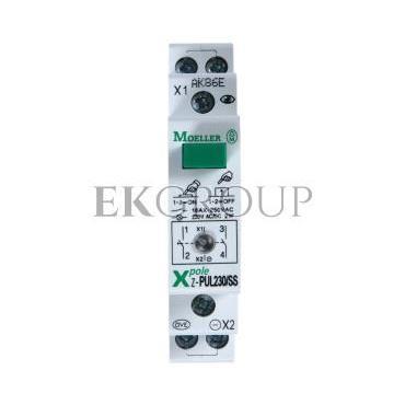 Przycisk modułowy 16A 2Z z lampką sygnalizacyjną Z-PUL230/SS 276297-134453