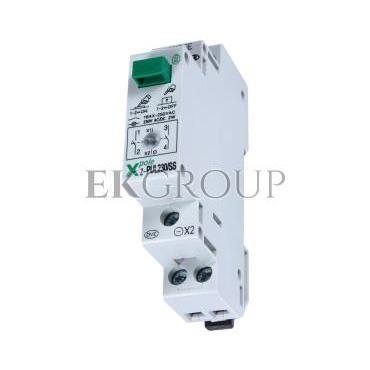 Przycisk modułowy 16A 2Z z lampką sygnalizacyjną Z-PUL230/SS 276297-134454