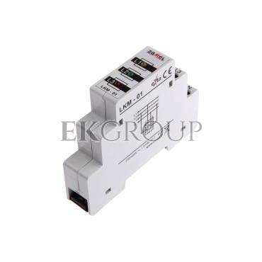 Lampka modułowa czerwona/zielona/żółta 230-400V AC LKM-01-40 EXT10000039-133440
