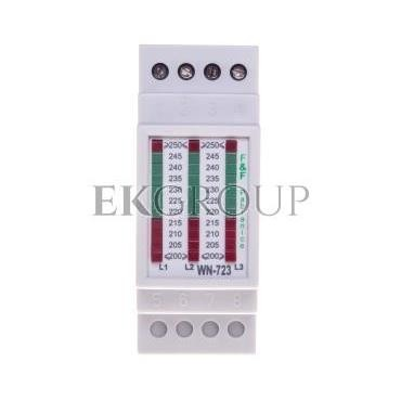 Lampka modułowa potrójna biały 230-400V AC WN-723-133476