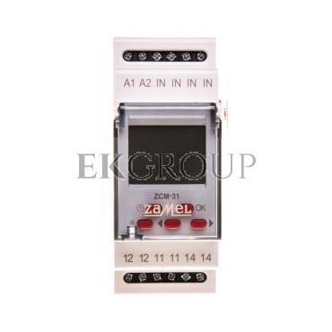 Programator czasowy 16A astronomiczny jednokanałowy ZCM-31 EXT10000156-143596