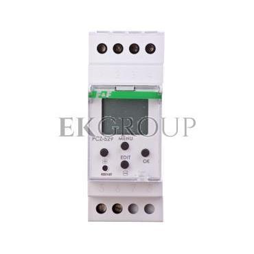 Zegar sterujący roczny 16A jednokanałowy 24-264V AC/DC PCZ-529-143601