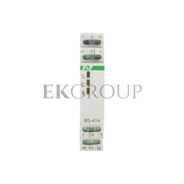 Przekaźnik impulsowy sekwencyjny 8A 230V AC 2P BIS-414-133993