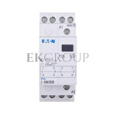 Przekaźnik impulsowy 16A 48V AC 2Z 2R Z-S48/2S2O 265540-134053