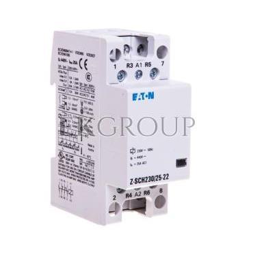 Stycznik modułowy 25A 2Z 2R 230V AC Z-SCH230/25-22 248849-135689